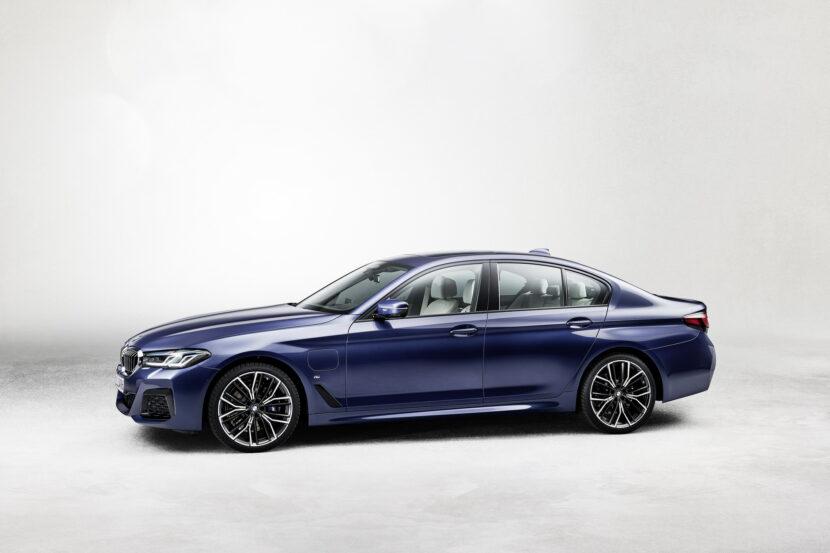 The New BMW 530e M Sport G30 LCI 55 830x553