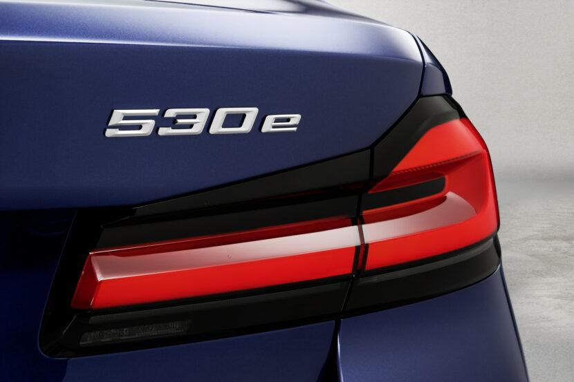 The New BMW 530e M Sport G30 LCI 68 830x553