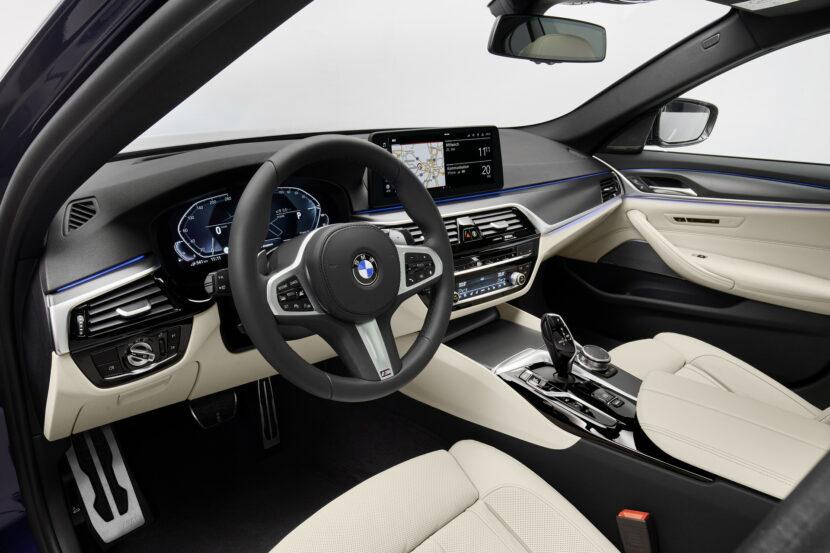 The New BMW 530e M Sport G30 LCI 74 830x553