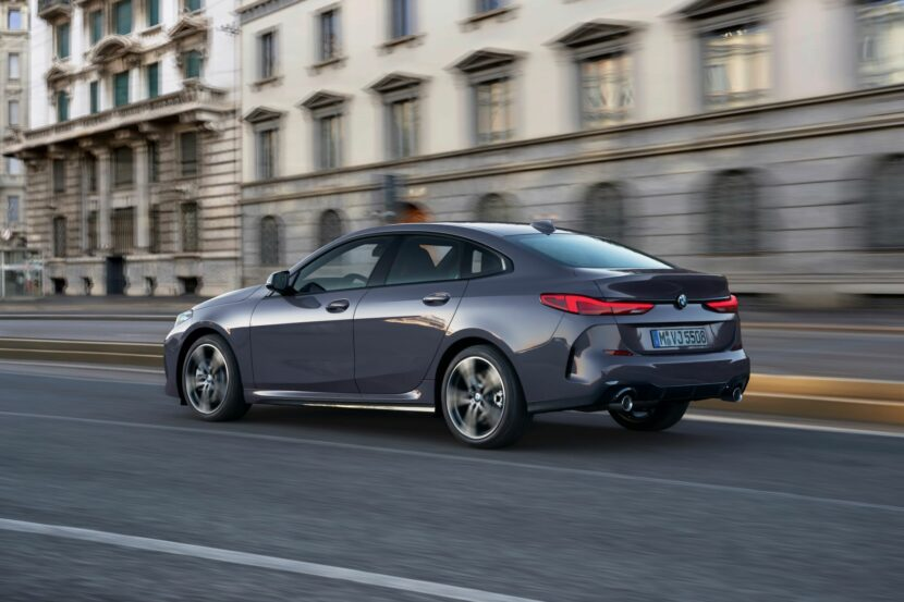 The new BMW 220d Gran Coupe F44 830x553
