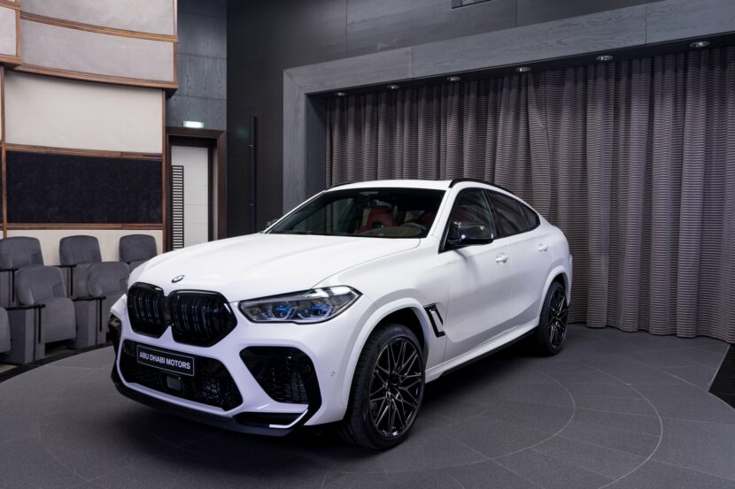 The new BMW X6 M Competition in Alpine White 1 830x553
