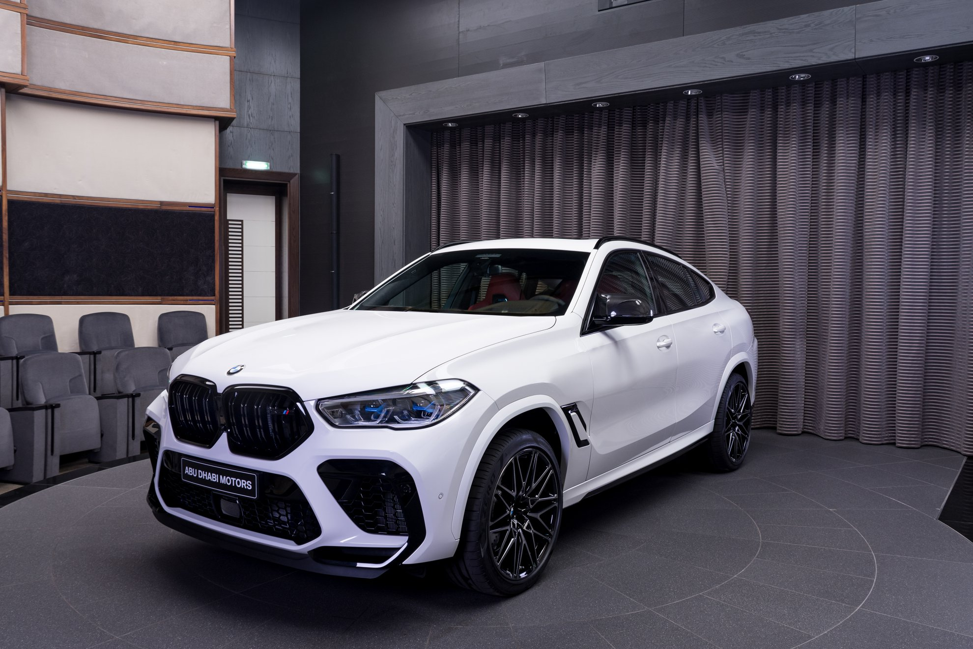 The new BMW X6 M Competition in Alpine White 1