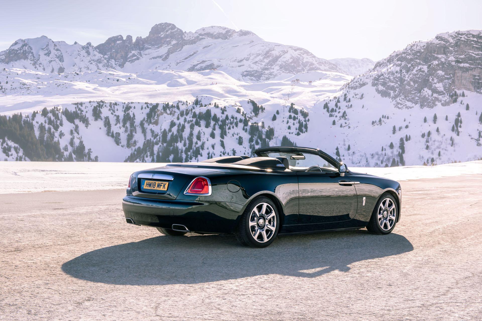 The new Rolls Royce Dawn Aero Cowling 4