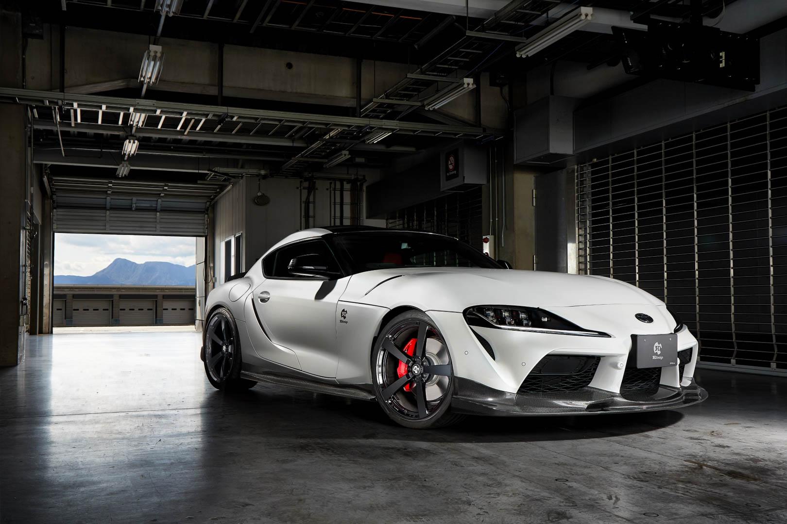 Toyota Supra 3D Design 1