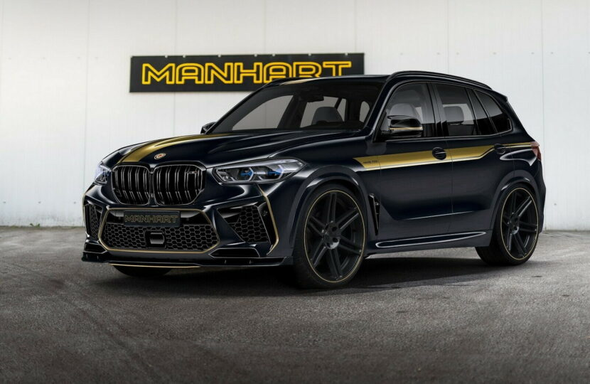 720 HP Manhart MHX5 BMW X5 M is asking for over €200,000