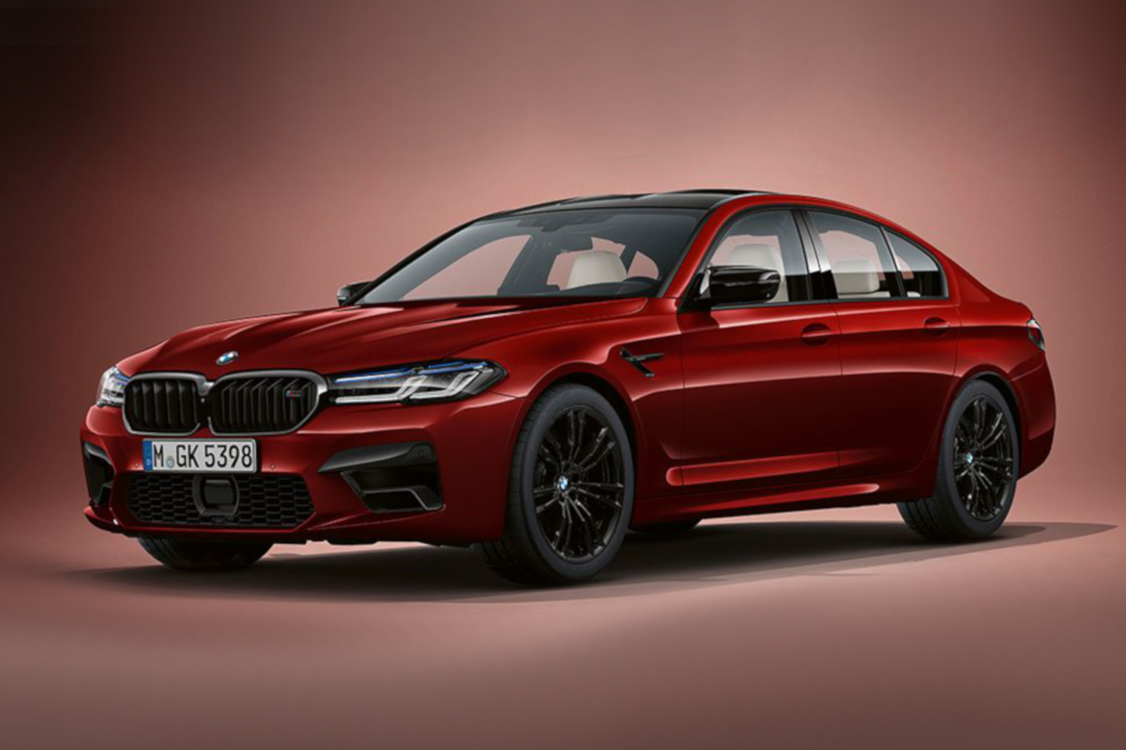 Bmw M5 Facelift First Pictures Without The Competition Package