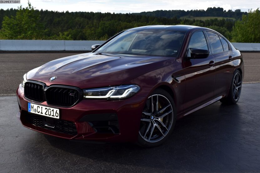 2020 BMW M5 Facelift F90 LCI Aventurinrot Live 01 830x554