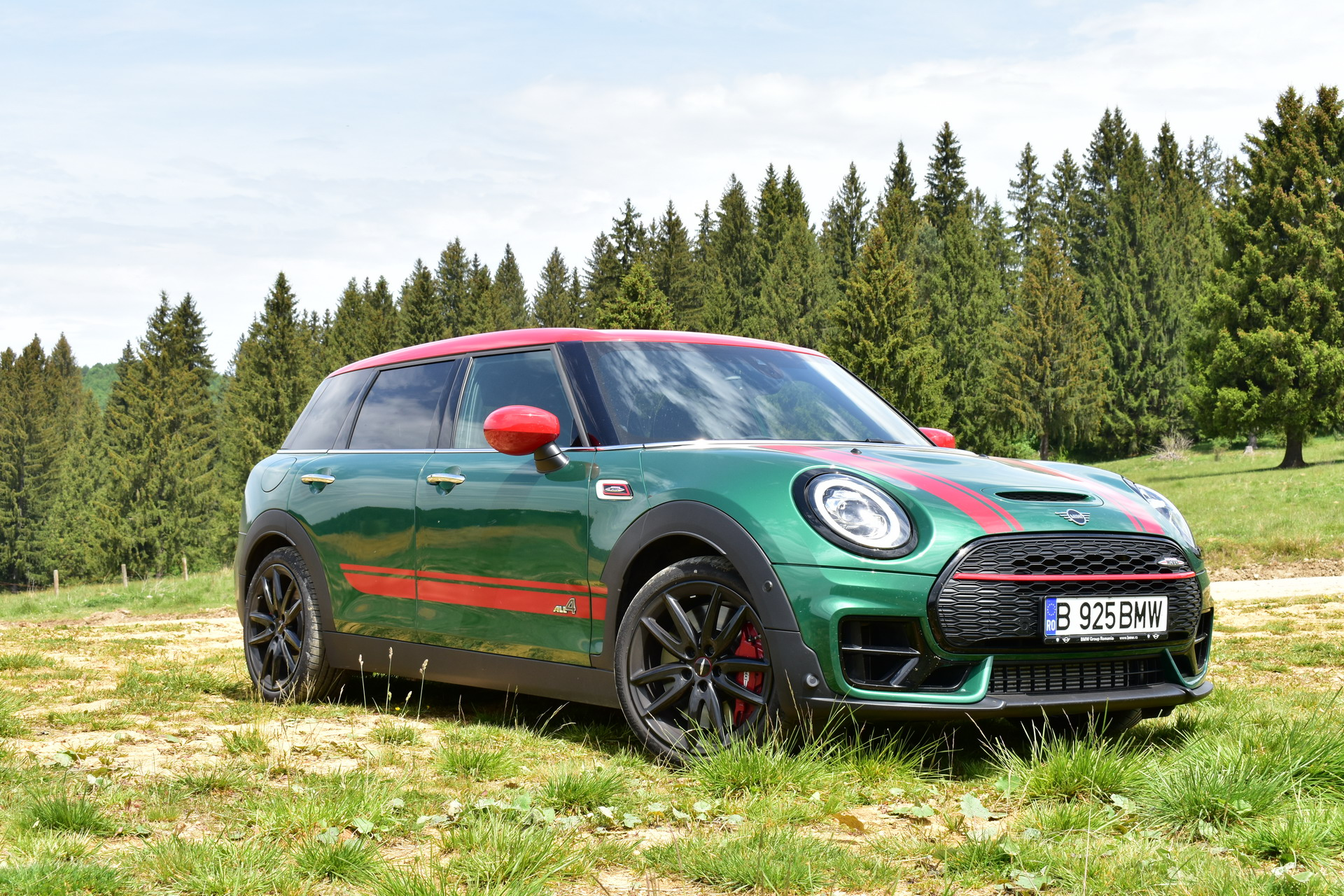 2020 MINI JCW Clubman ALL4 TEST DRIVE 39