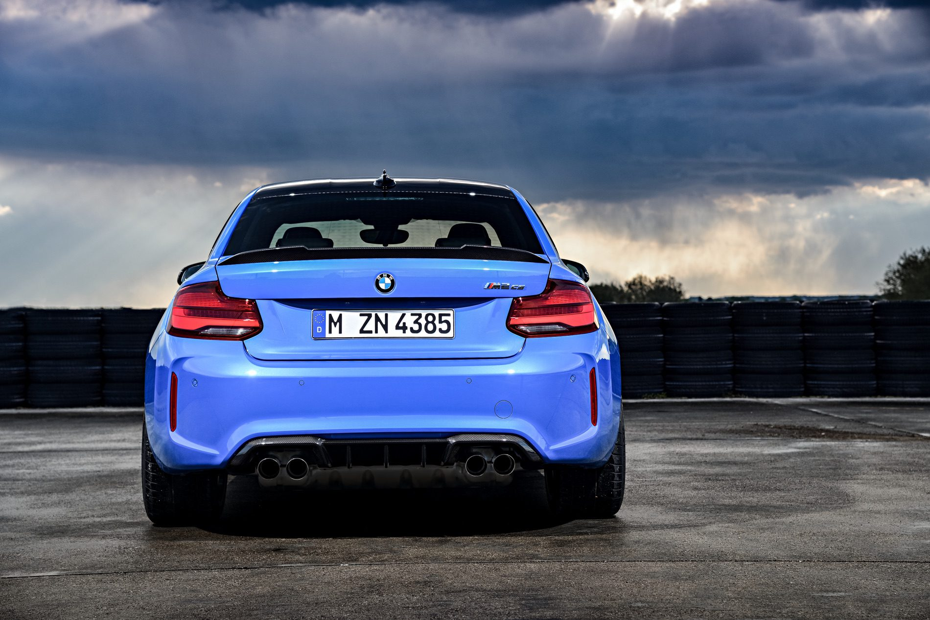 2021 BMW M2 CS Misano Blue 101