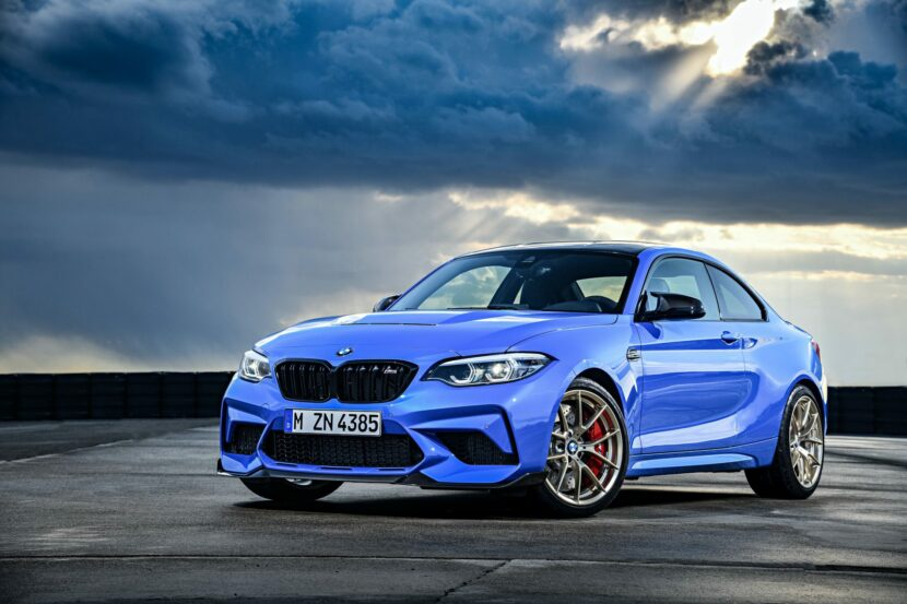 2021 BMW M2 CS Misano Blue 88 830x553