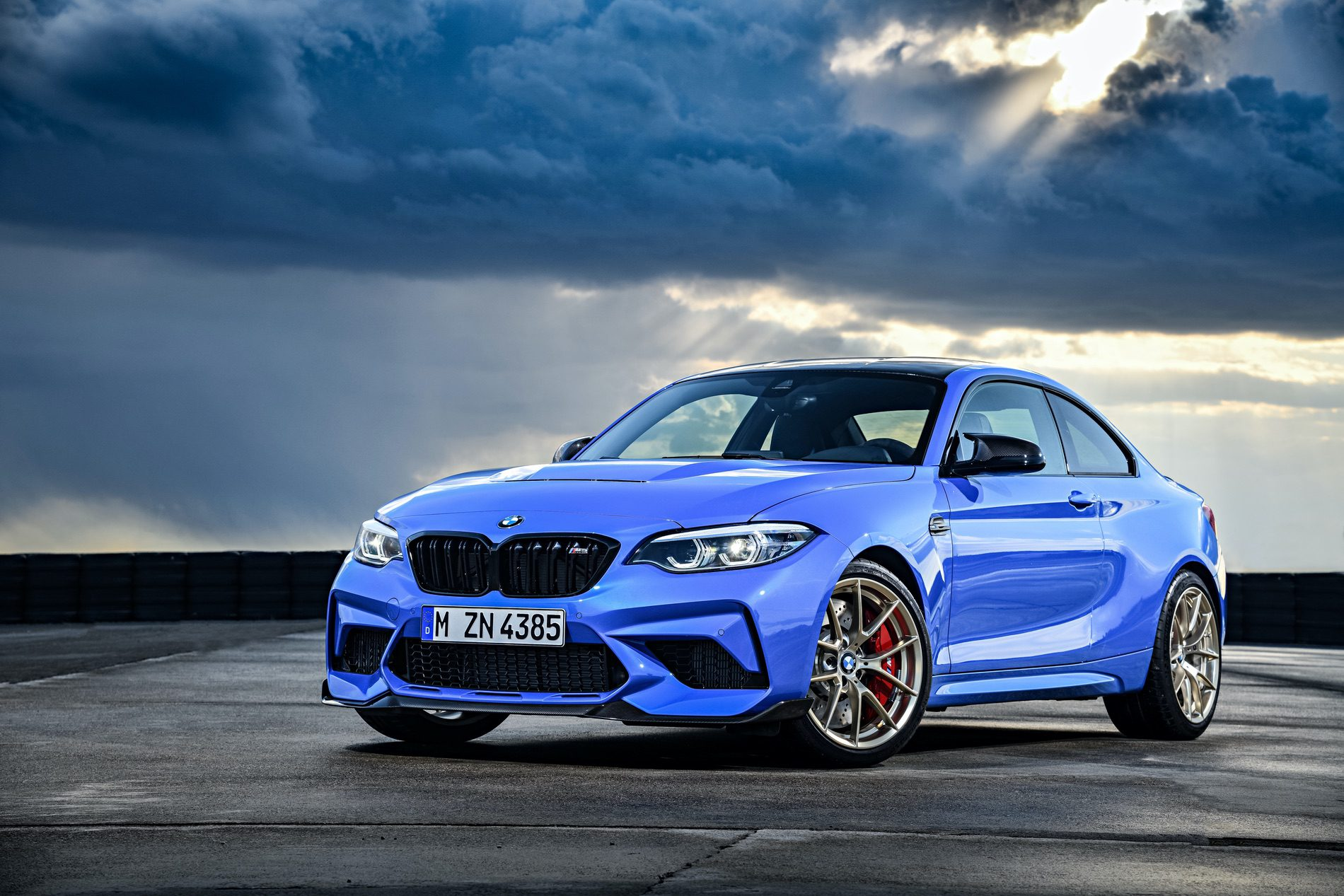 2021 BMW M2 CS Misano Blue 88