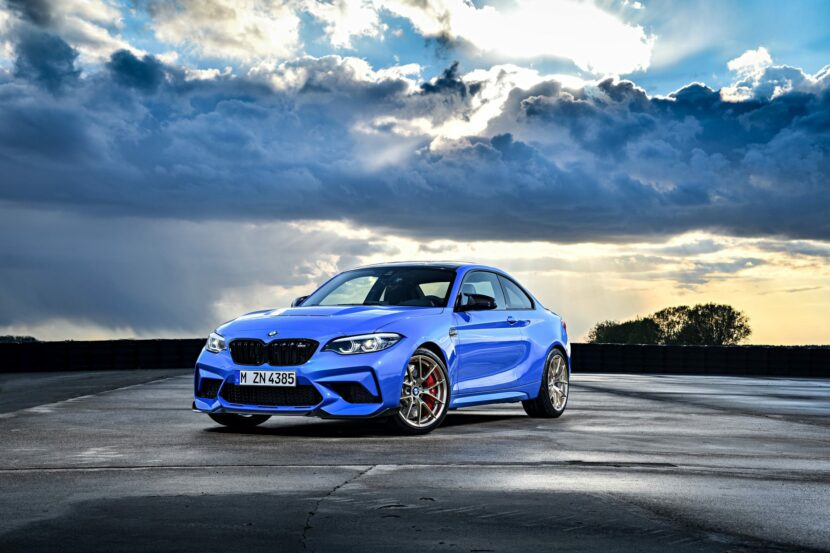 2021 BMW M2 CS Misano Blue 89 830x553