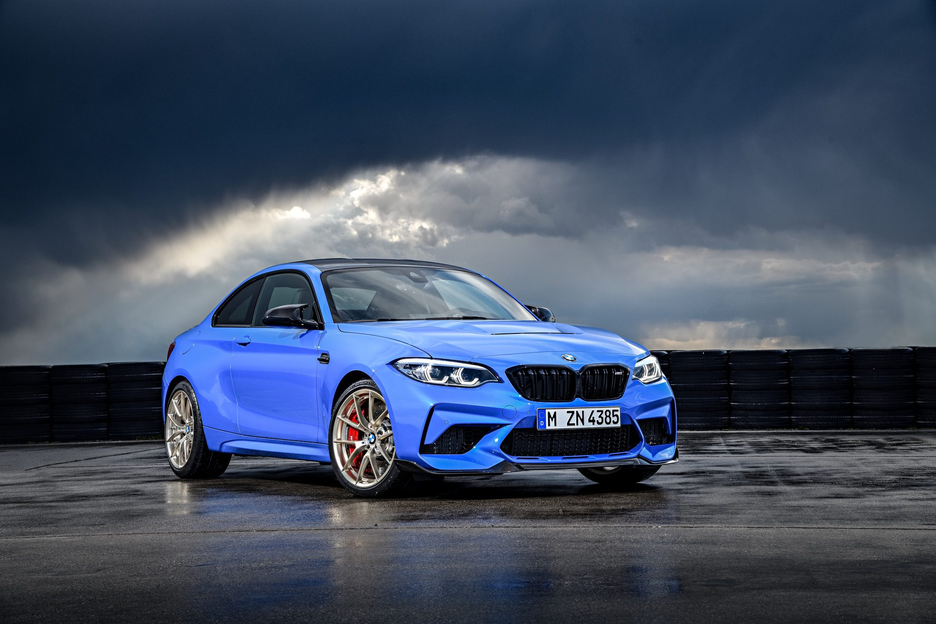 2021 BMW M2 CS Misano Blue 95