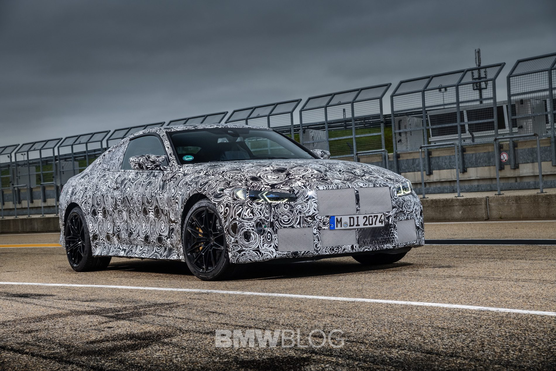 2021 BMW M4 Coupe camouflage 13