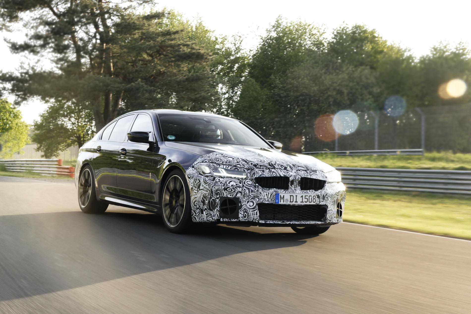 2021 BMW M5 Facelift Nurburgring 05