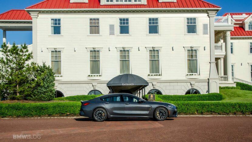 2021 BMW M8 Gran Coupe test drive 01 830x467