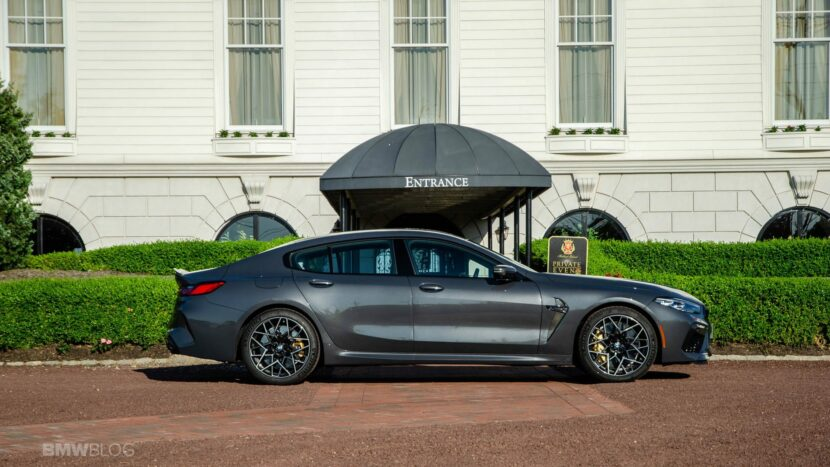 2021 BMW M8 Gran Coupe test drive 02 830x467