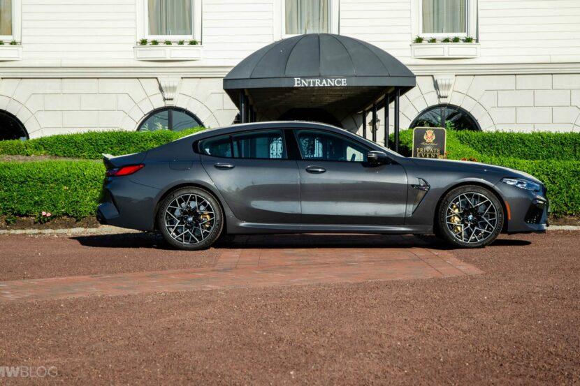 2021 BMW M8 Gran Coupe test drive 03 830x553