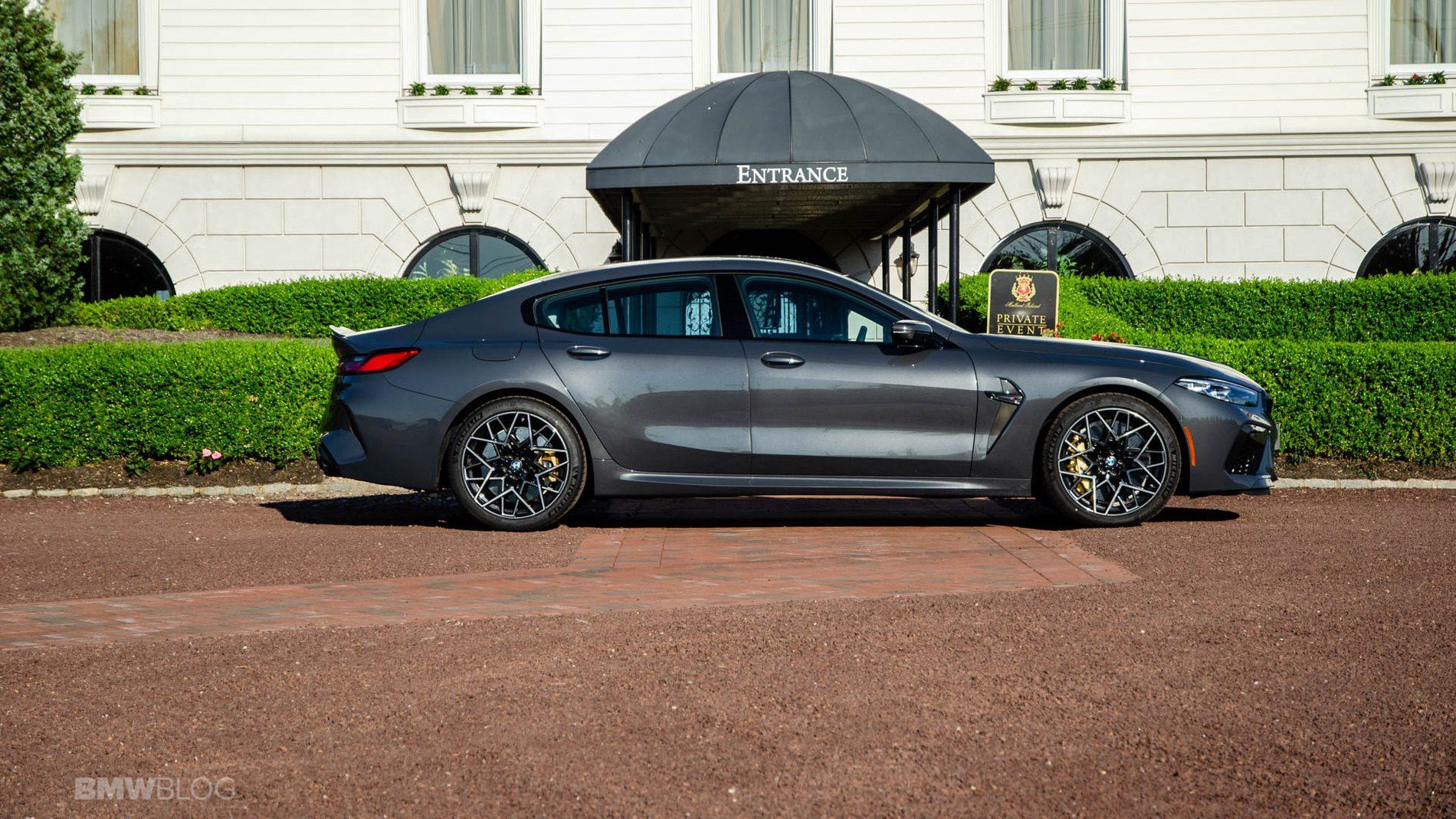 2021 BMW M8 Gran Coupe test drive 03