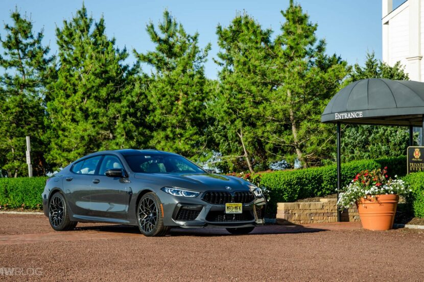 2021 BMW M8 Gran Coupe test drive 04 830x553