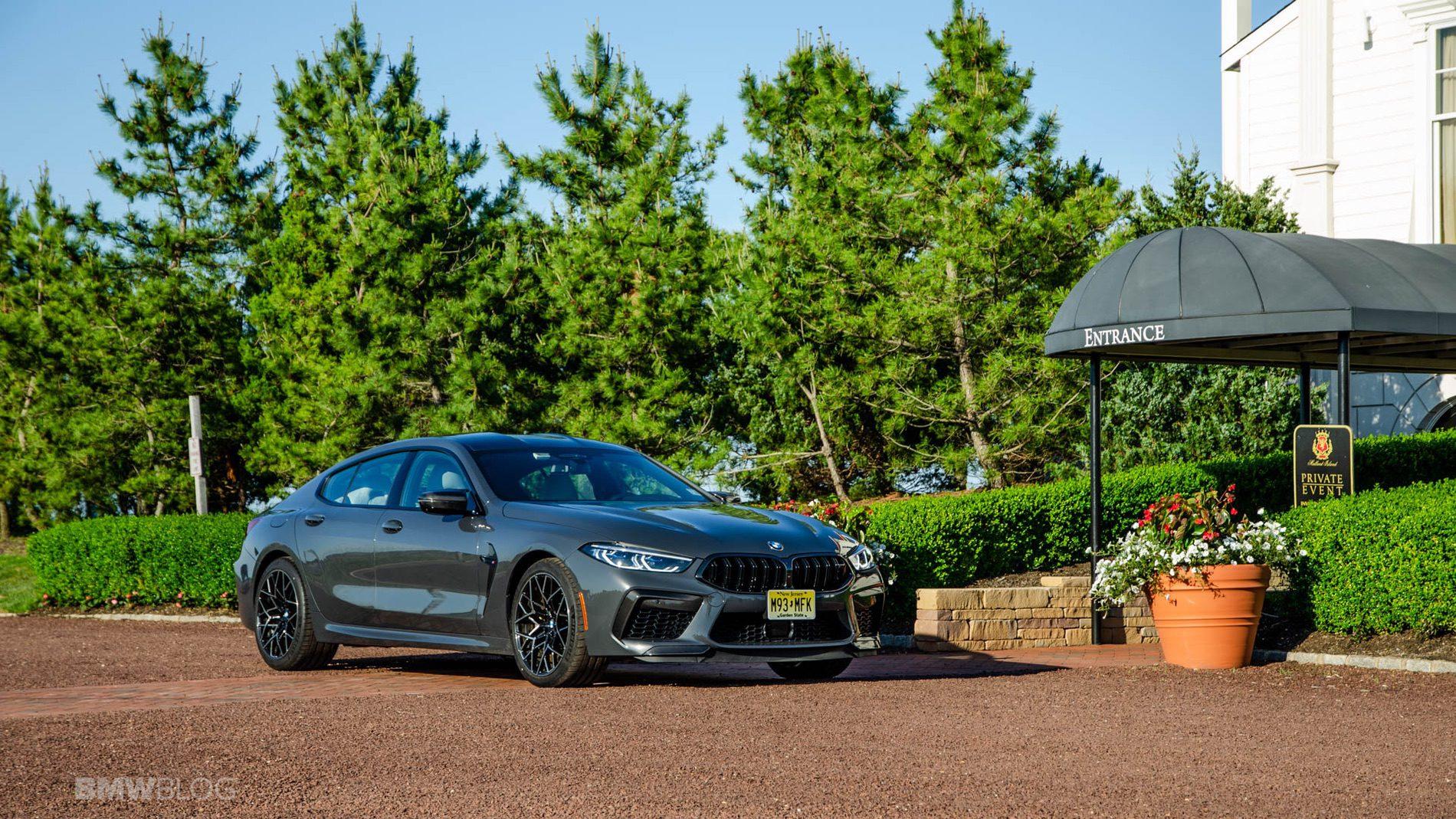 2021 BMW M8 Gran Coupe test drive 04