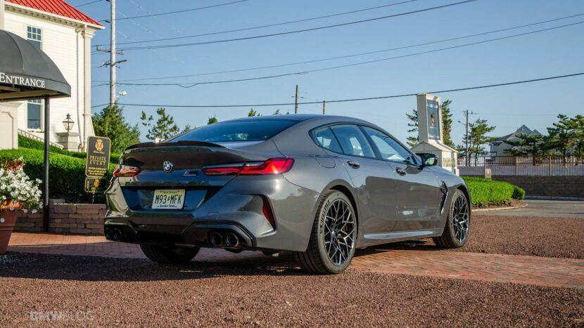 2021 BMW M8 Gran Coupe test drive 08 830x467
