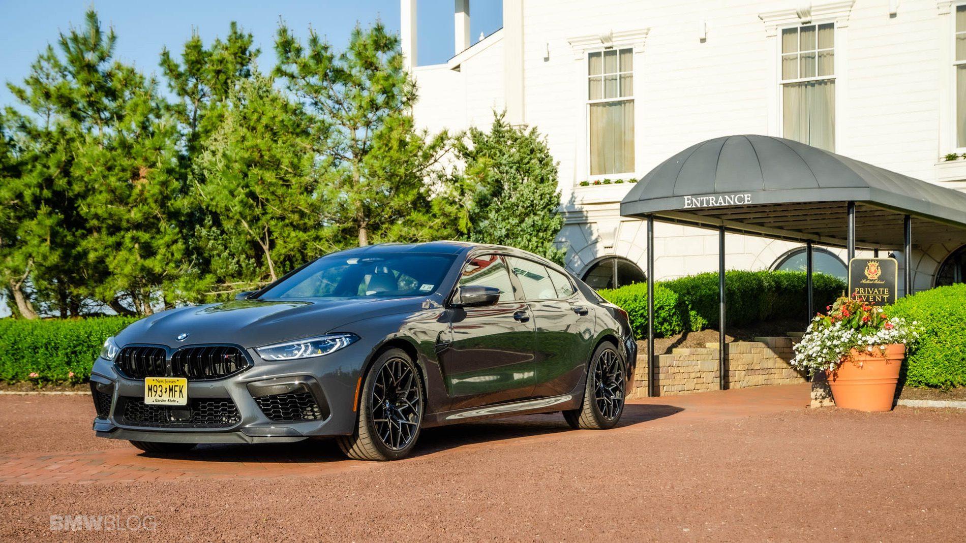 2021 BMW M8 Gran Coupe test drive 22