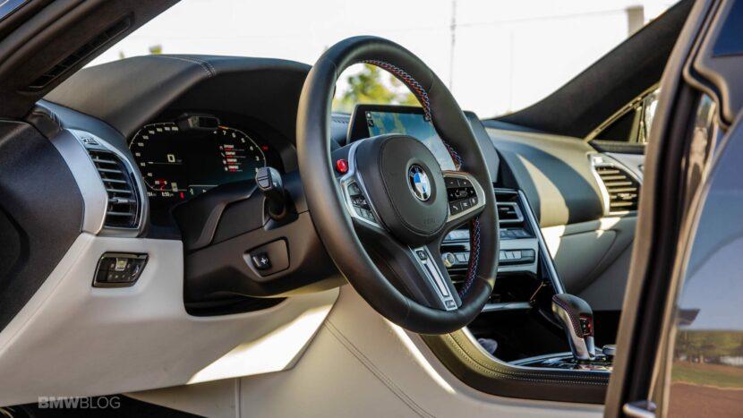 2021 BMW M8 Gran Coupe test drive 32 830x467