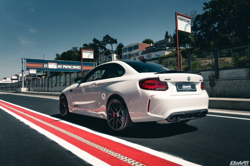 2021 BMW m2 cs race track 20 830x553