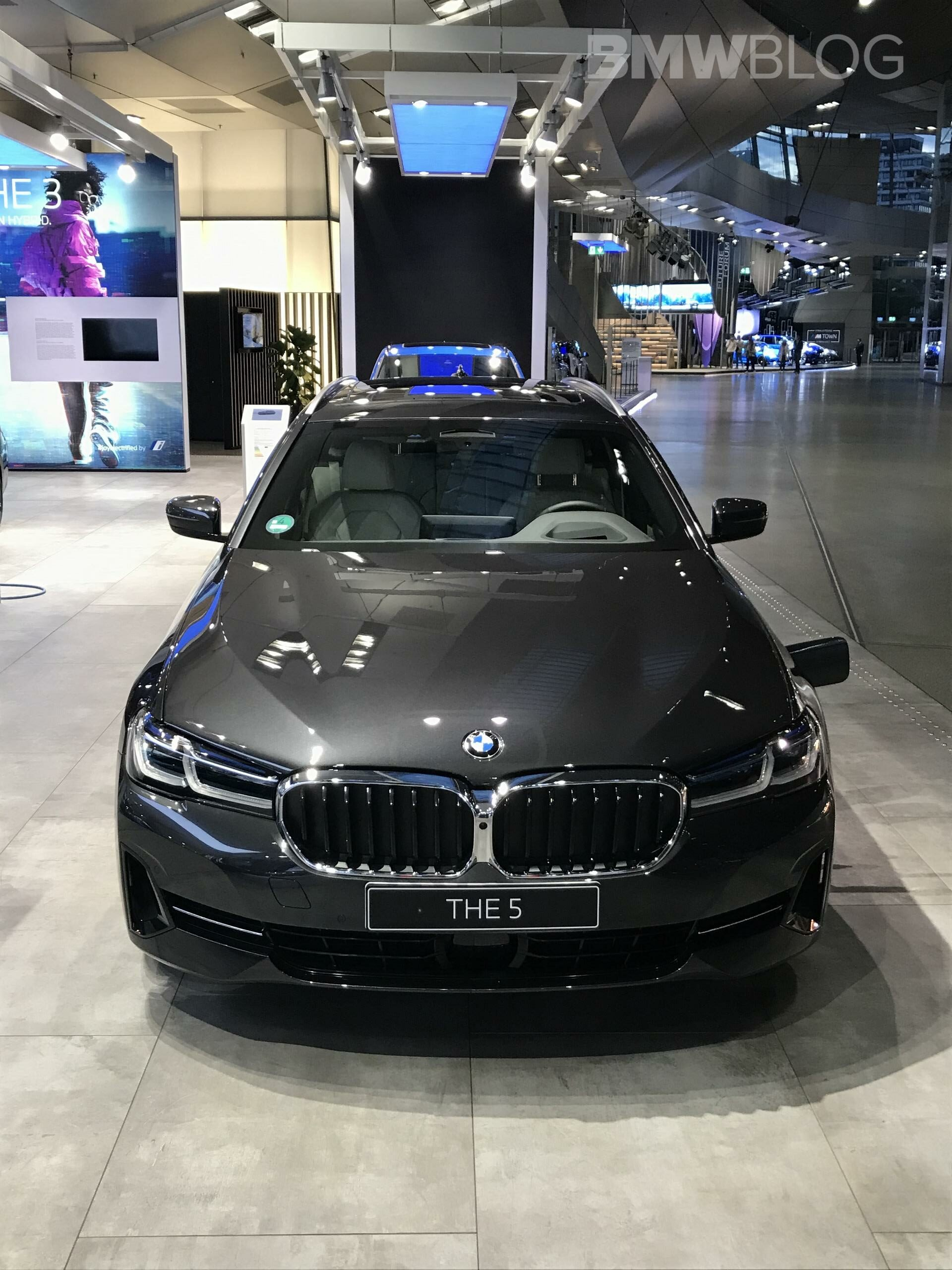 2021 bmw 5 series facelift first real life photos from