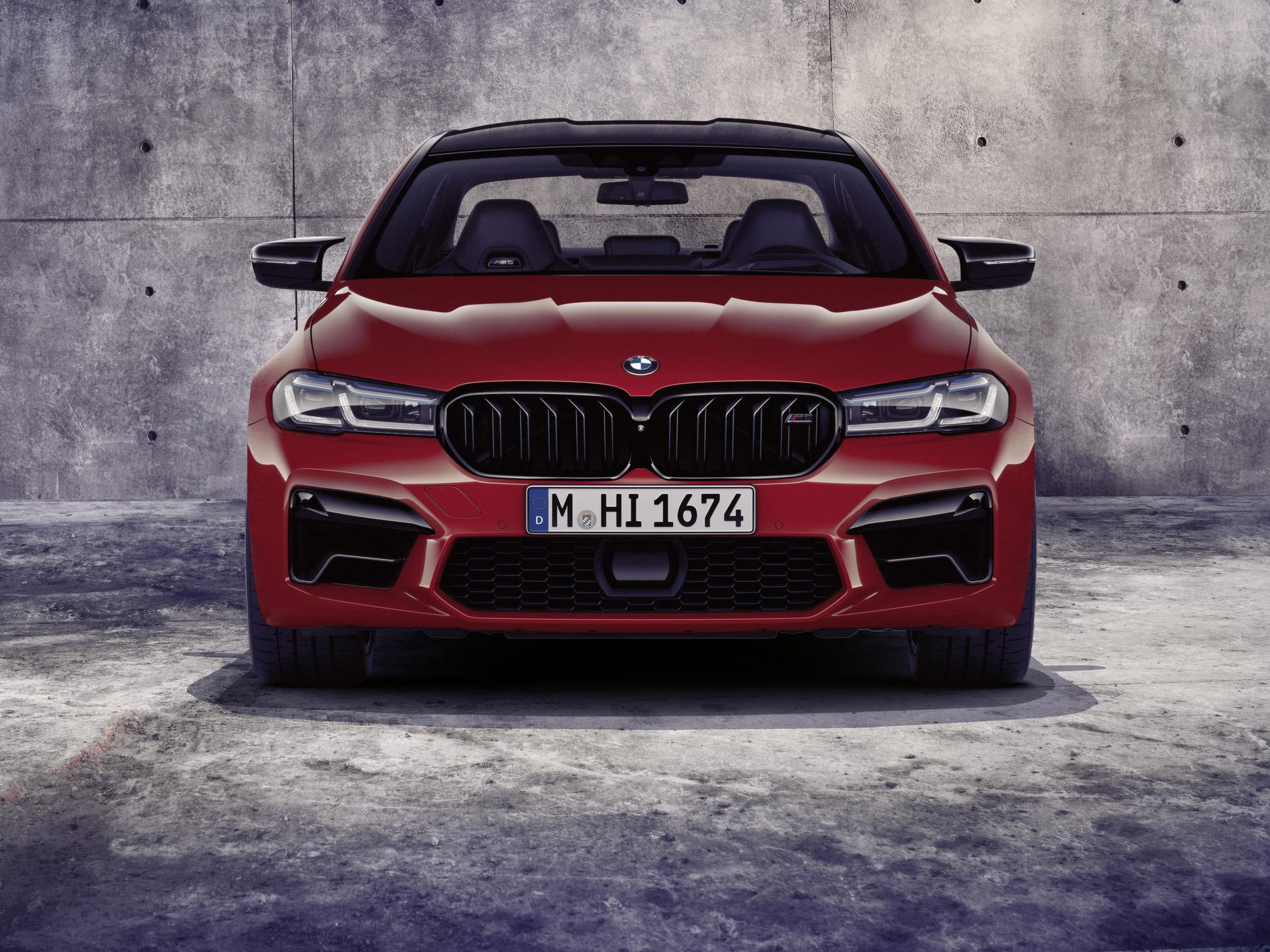 World Premiere The New Bmw M5 And Bmw M5 Competition