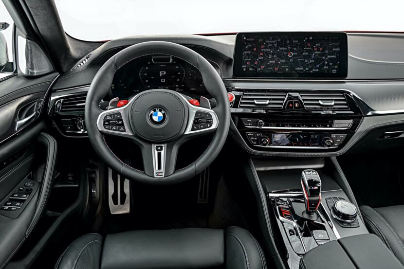 BMW M5 Facelift Interior