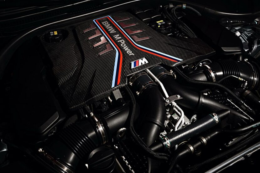 BMW M5 Facelift Engine