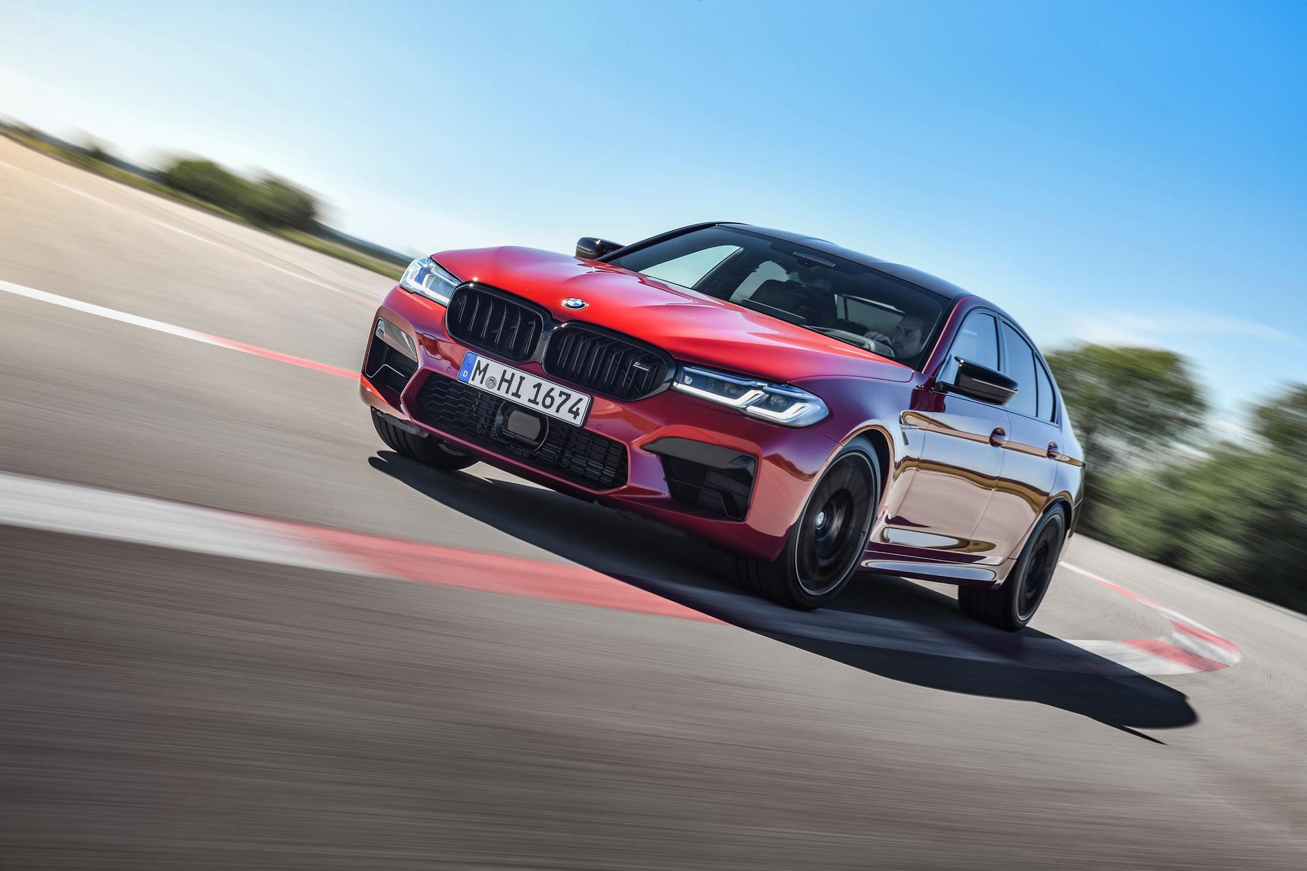 2021 bmw m5 facelift race track 00
