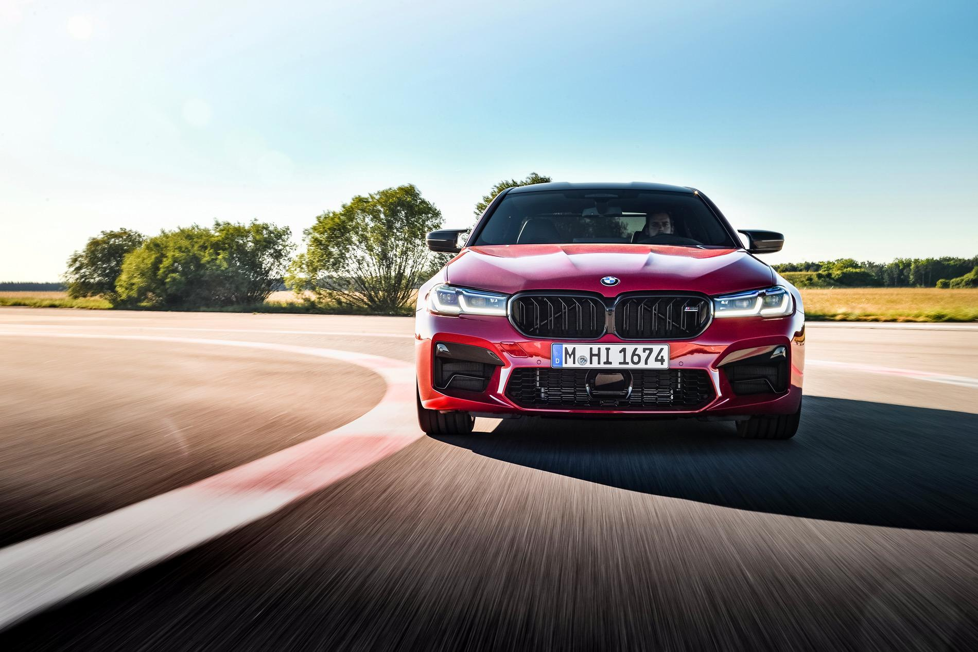 2021 Bmw M5 Facelift Goes For A Track Run Mimicnews