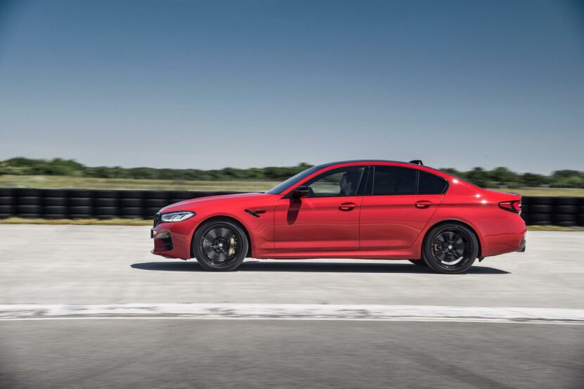 2021 bmw m5 facelift race track 15 830x553