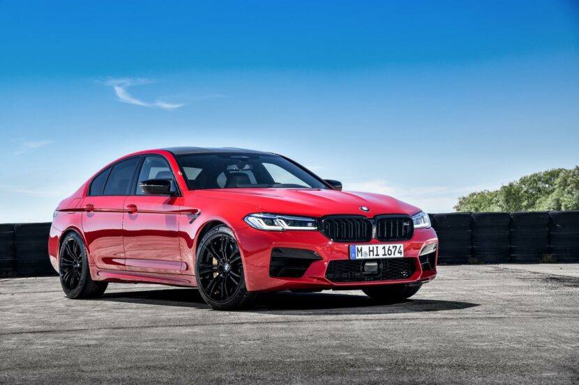 2021 bmw m5 facelift race track 18 830x553