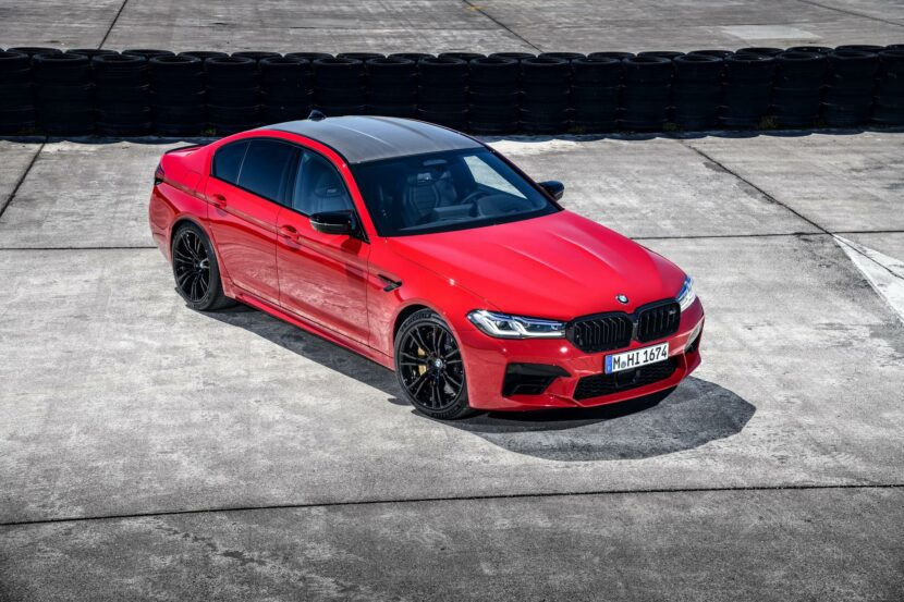 2021 bmw m5 facelift race track 19 830x553