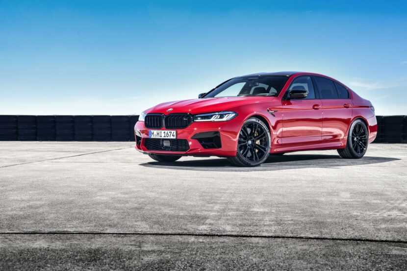 2021 bmw m5 facelift race track 20 830x553
