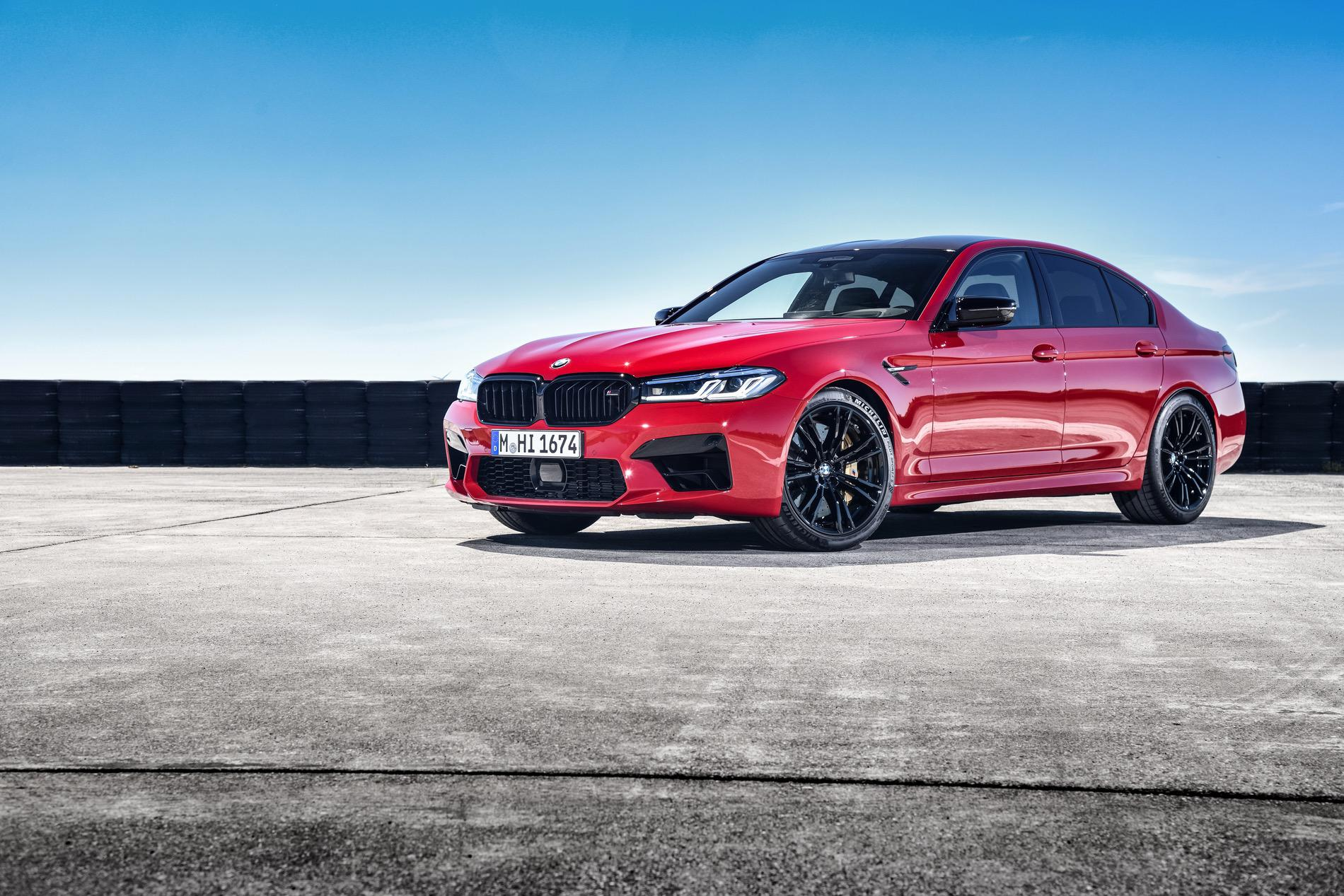 2021 bmw m5 facelift race track 20