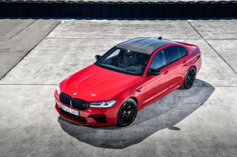 2021 bmw m5 facelift race track 21 830x553