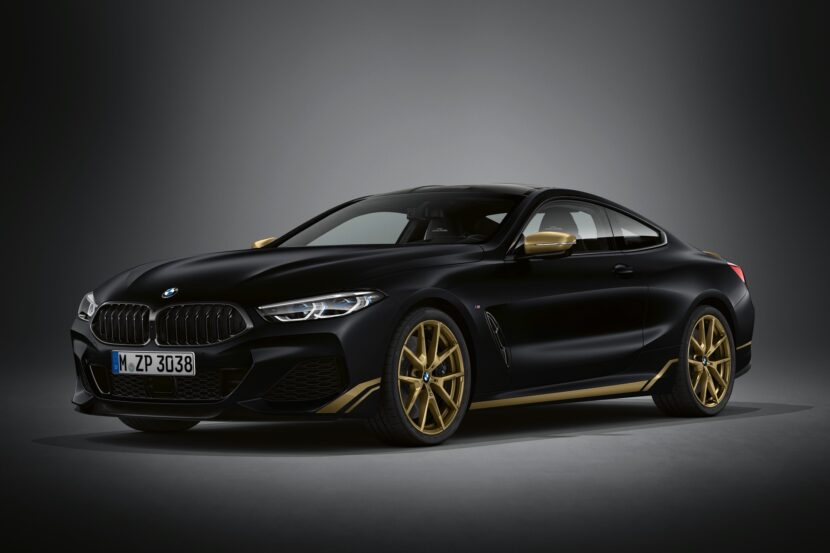 BMW 8 Series Golden Thunder Edition 2 830x553