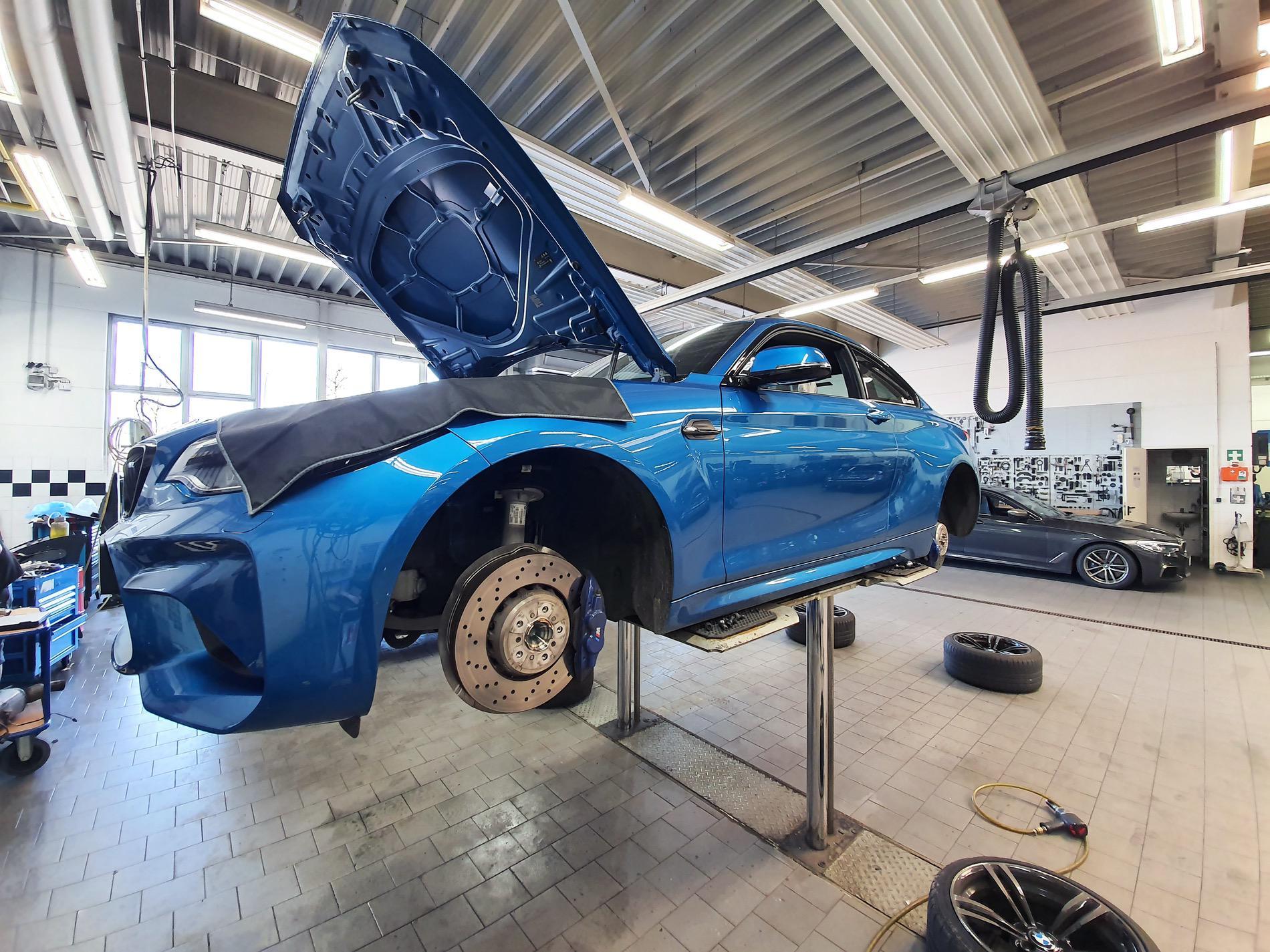 BMW M Performance suspension kit BMW M2 02