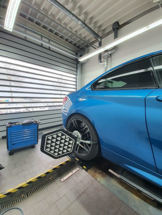BMW M Performance suspension kit BMW M2 17