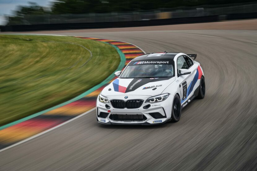 BMW M2 CS Racing track tested 12 830x553