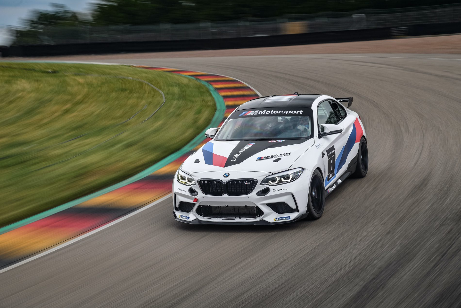 BMW M2 CS Racing track tested 12