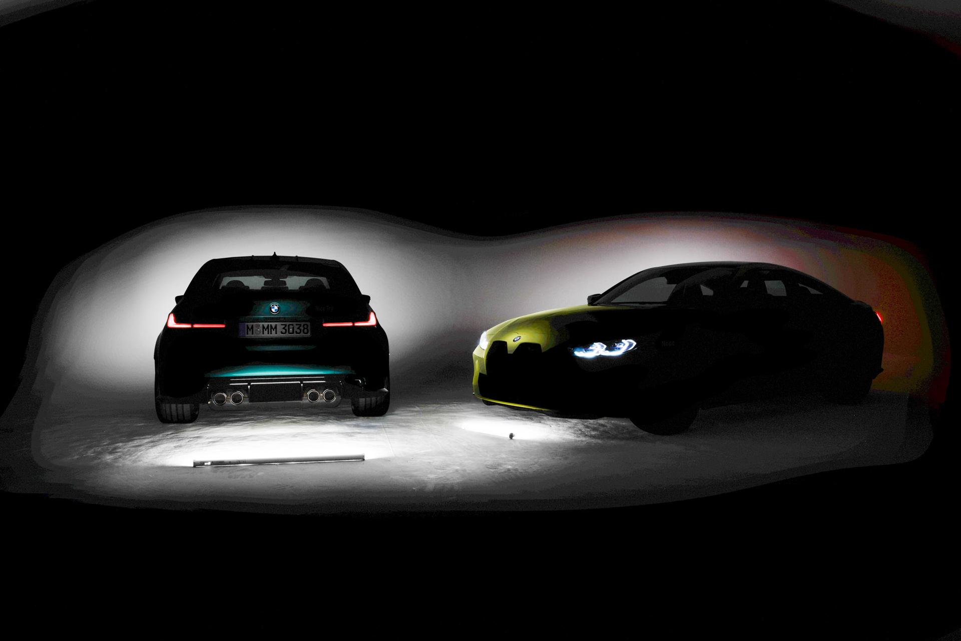 BMW M3 M4 kidney grille 2021 1