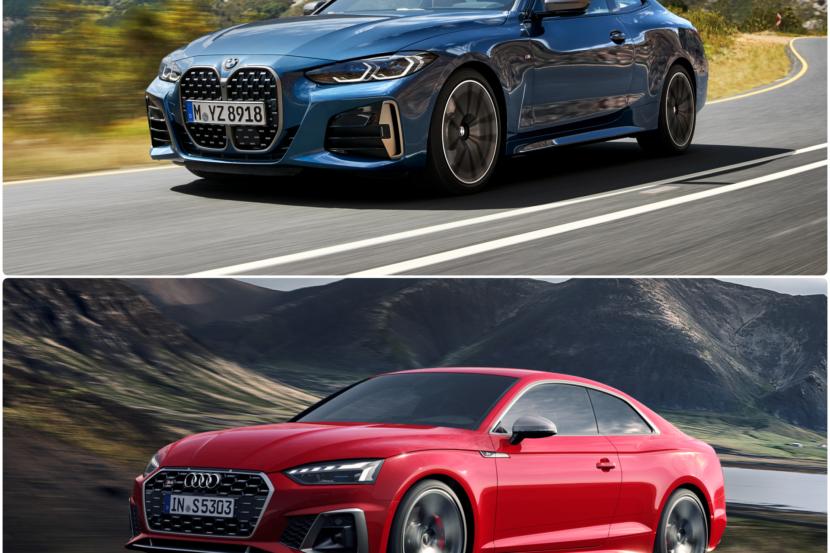 BMW M440i xDrive vs. Audi S5 Coupe TDI 830x553