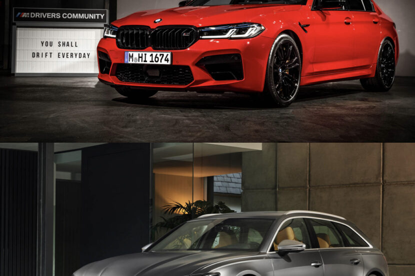 BMW M5 Audi RS5 830x553