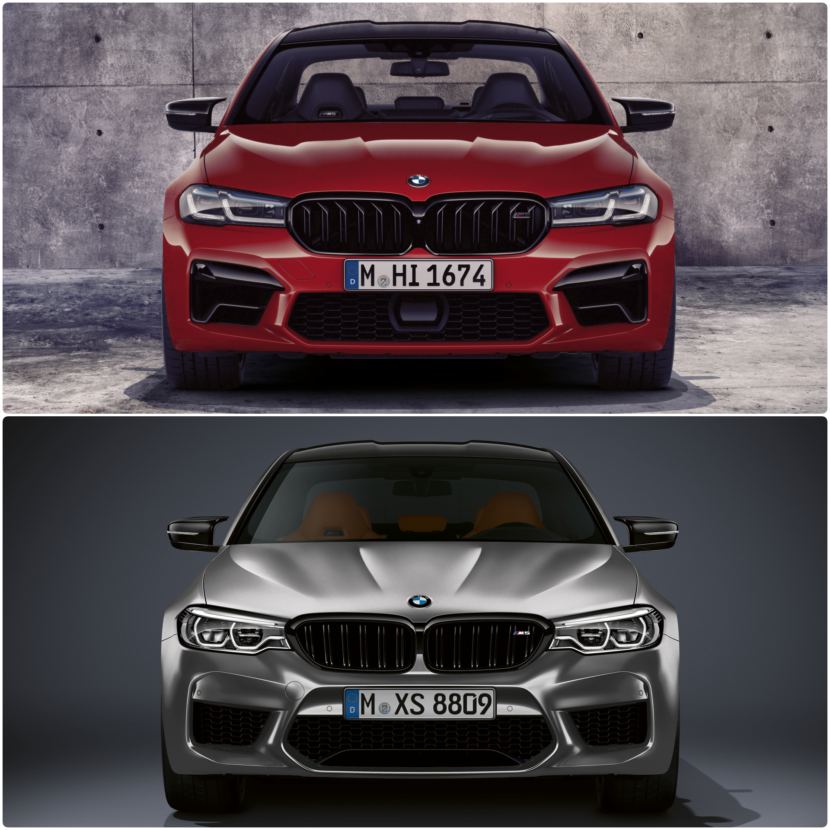 BMW M5 Competition F90 LCI vs. pre LCI F90 3 830x830